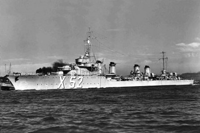 Le contre-torpilleur Chevalier Paul a Toulon le 18 juillet 1939