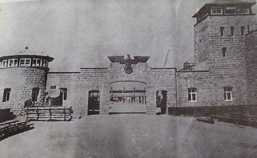 mauthausen entrée du camp