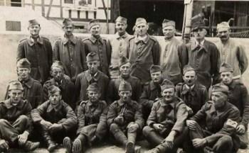 prisonniers de guerre stalag IX B recto