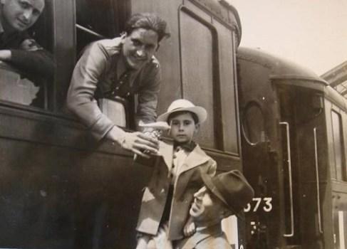 16 juin 1941 retour des prisonniers de guerre père de 4 enfants et soutien de famille