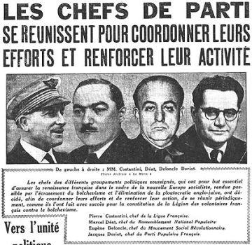Chefs de parti LVF 1941