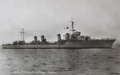 contre torpilleur Tartu