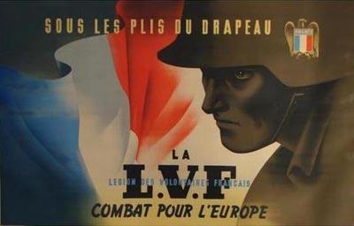 affiche de la LVF