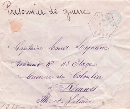 prisonnier de guerre caserne du colombier à rennes précurseur front stalag