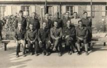 prisonniers de guerre dans un oflag