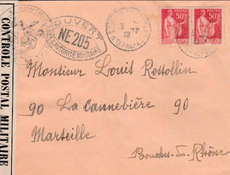 controle-postal NE 205