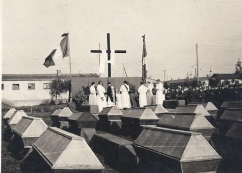 prisonniers de guerre enterrement au Stalag IX A