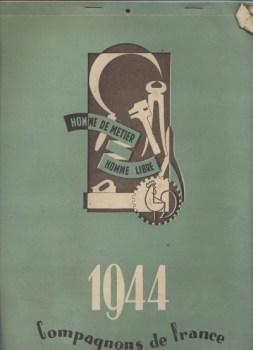 1944 revue des compagnons de France