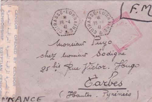 navires internés 18 04 1941 cuirassé Lorraine à Alexandrie