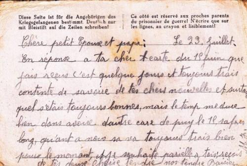 prisonniers de guerre mention rapatrié 23 01-1941