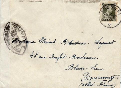 controle postal WA 341
