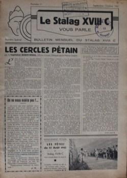 journal du stalag XVIII C