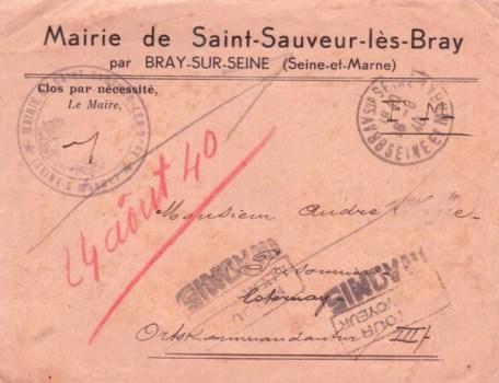 pour un P G à Esternay (Marne) FRONTSTALAG