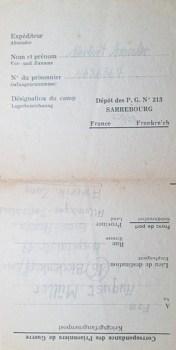 prisonniers de guerre allemands en france camp n°213