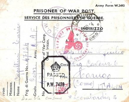 prisonniers de guerre italien en GB camp n°47