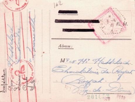 Croiseur TOURVILLE 03 06 1941