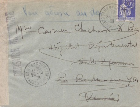 25 10 1939 camp de Gurs
