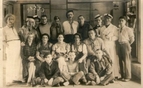 prisonniers de guerre STALAG V A  théatre