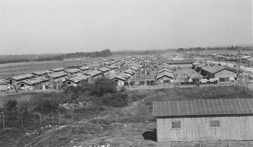 une vue du CAMP DE GURS