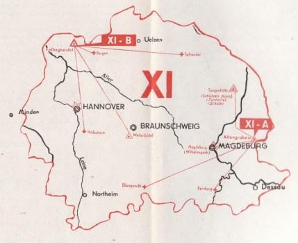 carte de la 11e région