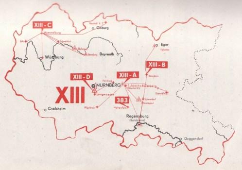 carte de la 13e région