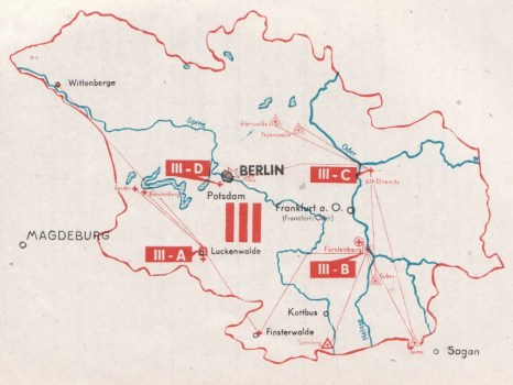 carte de la 3e région