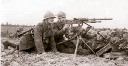 mitrailleur du 11é RTA