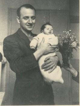 naissance de sa fille Juin 1946