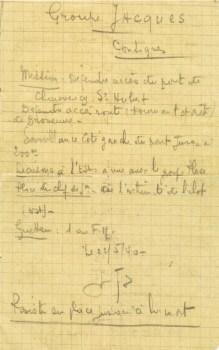 ordre de Mission 22 05 1940
