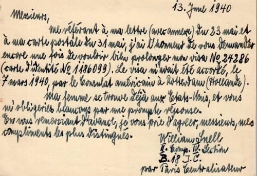 interné civil camp de Bassens 20 06 1940