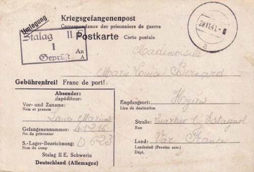 28 11 1941 stalag II E