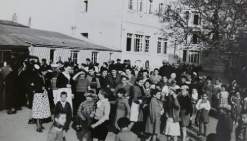 les enfants espagnols réfugiés à Ormeau
