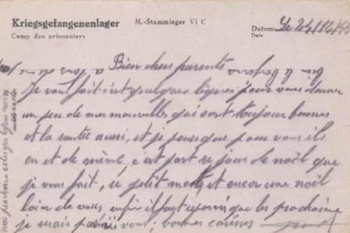 07 01 1944 stalag VI C