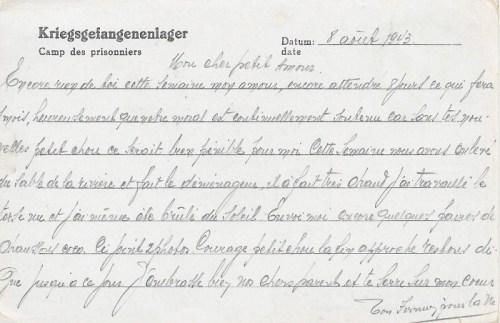 20 08 1943 stalag VIII A