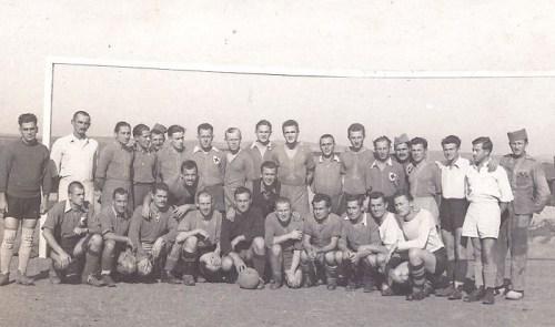 prisonniers de guerre stalag XVII B équipe de football