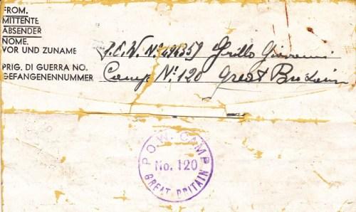 prisonniers de guerre allemands en GB camp n° 120