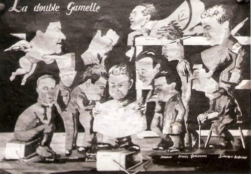 rédaction du journal la double gamelle au stalag III A