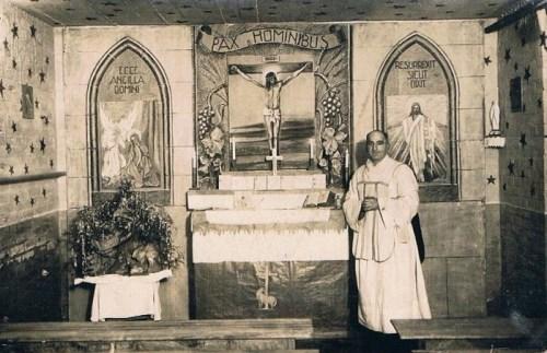 la chapelle du stalag XI B