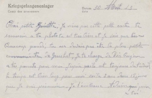07 06 1943 stalag XII A verso