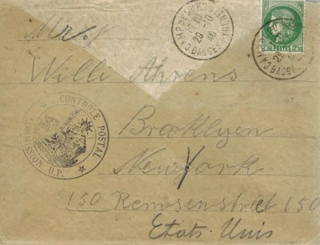controle postal commission U.P