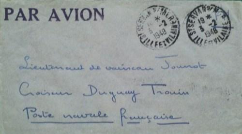 03 02 1948 croiseur Duguay Trouin