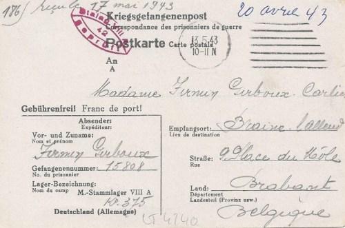 13 05 1943 stalag VIII A