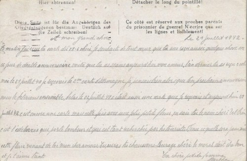 21 07 1942 stalag VIII A