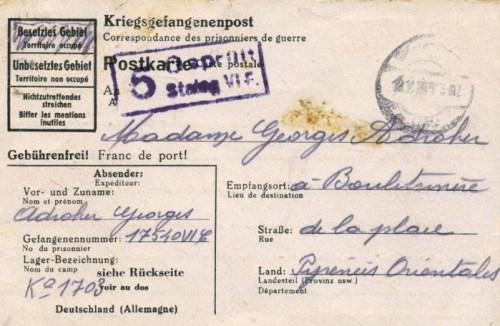 31 10 1943 stalag VIF