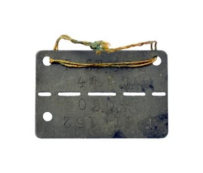 plaque d'immatriculation de PG front-stalag-152