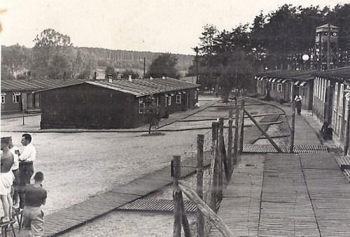 STALAG IIID vue d'une partie du camp