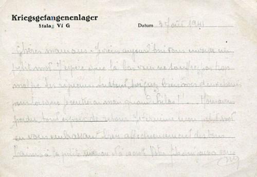 22 08 1941 stalag VIG