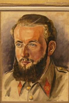 la peinture au camp de Kobierzny