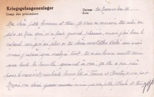 04 12 1942 stalag II B au service du maréchal