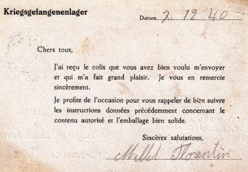 07 12 1940 camp de Sagan